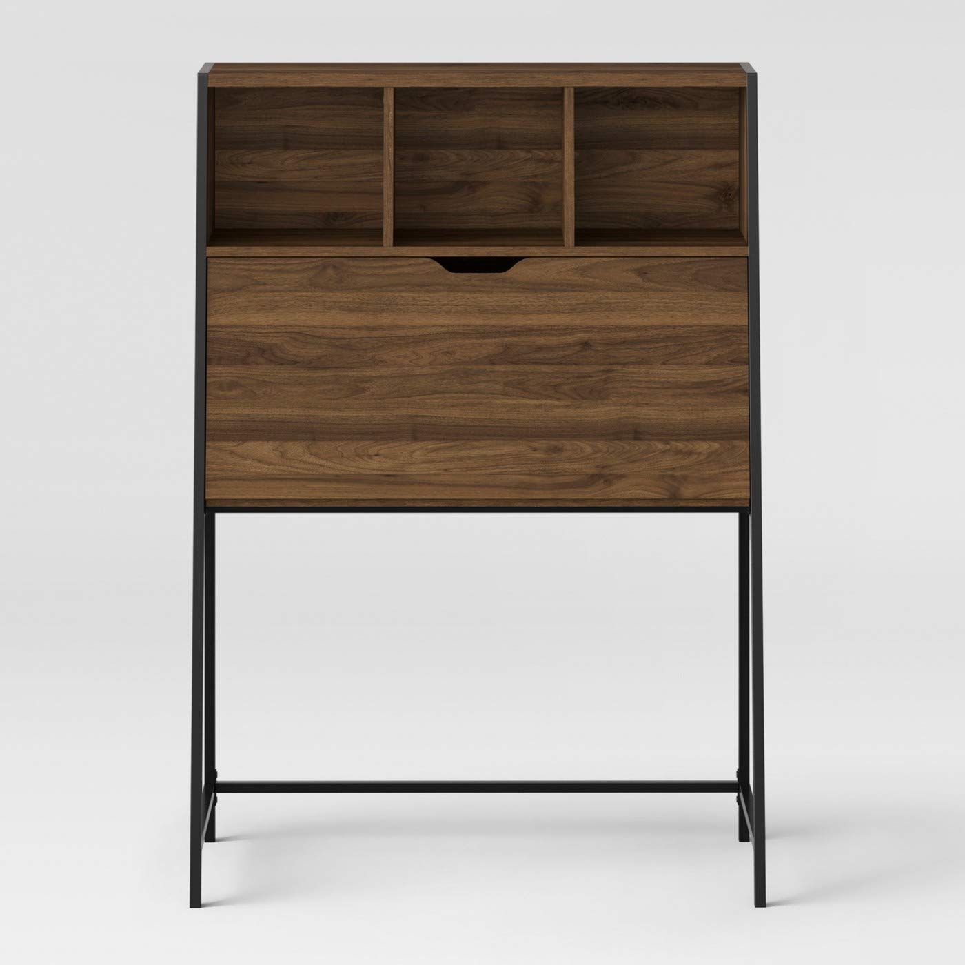 Amazon.com: Loring Secretary Desk - Project 62 (Walnut): Kitchen & Dining