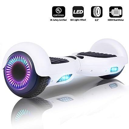 jolege Hoverboard Scooter eléctrico con auto balanceo ...