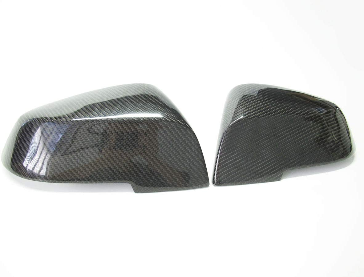Side Mirror Cover Caps Carbon Fiber Replacement For BMW F20 F21 F22 F23 F30 F32