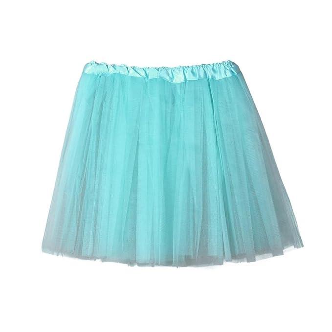 Falda Mujer, Sannysis Faldas de Tul Cortas Mujer Verano Perchas ...