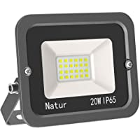 20W LED Foco Exterior Alto Brillo Proyector Led Impermeable IP65 Blanco Cálido 3000K Floodlight Led Foco Exterior…