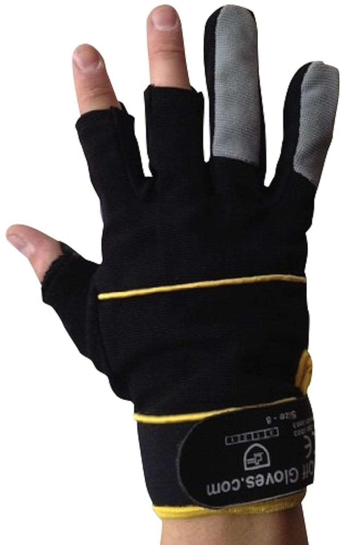 Id/éal pour la p/êche Le Travail Easy Off Gloves Gants Mitaines de M/écanicien Disponibles en Tailles 7-11 Bricolage et commer/çant. la Photographie