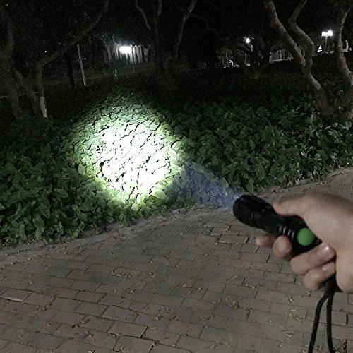 BlueFire 1200 Lumen Top CREE XML L2 LED Flashlight Portable Adjustable Focus Zoom Handheld Water Resistant Flashlight Torch