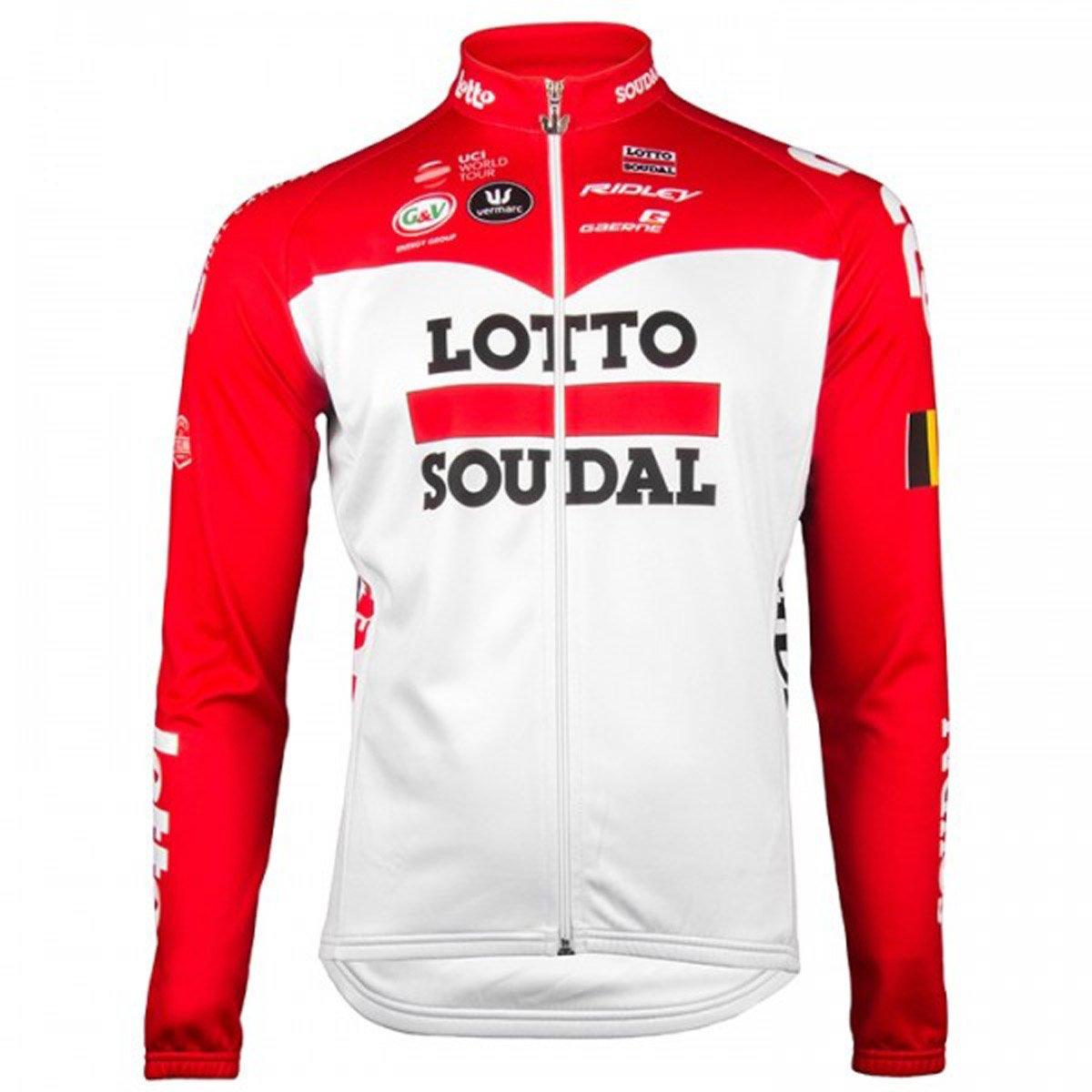 自転車ウェア 2018 Lotto Soudal 長袖ジャージ Mサイズ ロットソウダル   B07CJY7TKQ