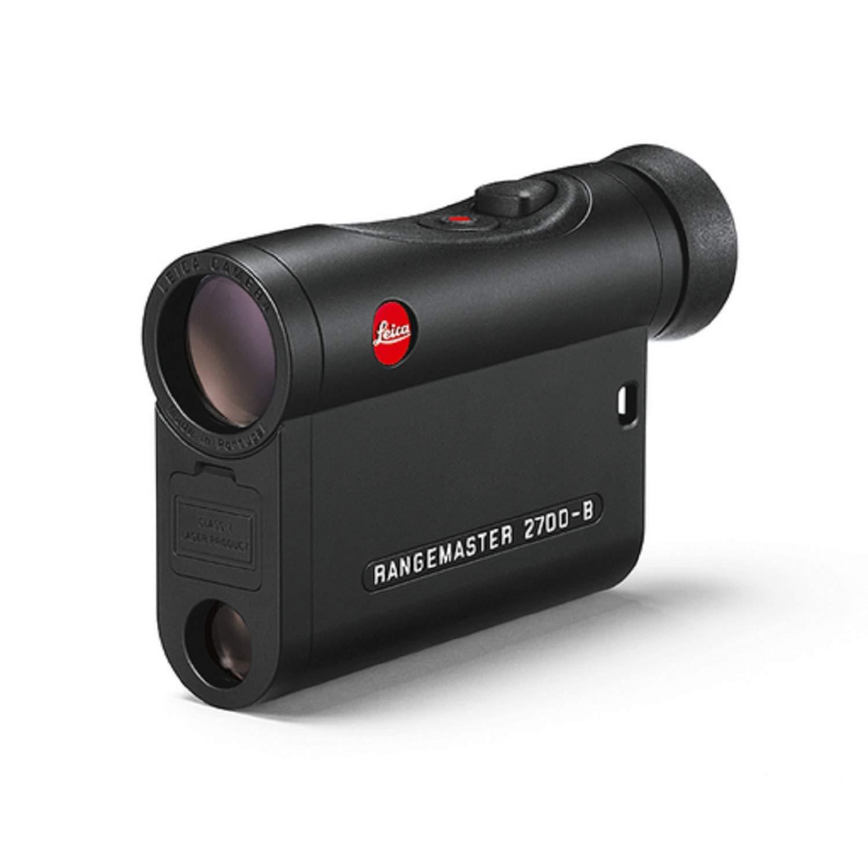 Leica Rangemaster CRF 2700-B 7x24 Laser Rangefinder, Roof Prism, AquaDura Lens Coating, Waterproof by Leica