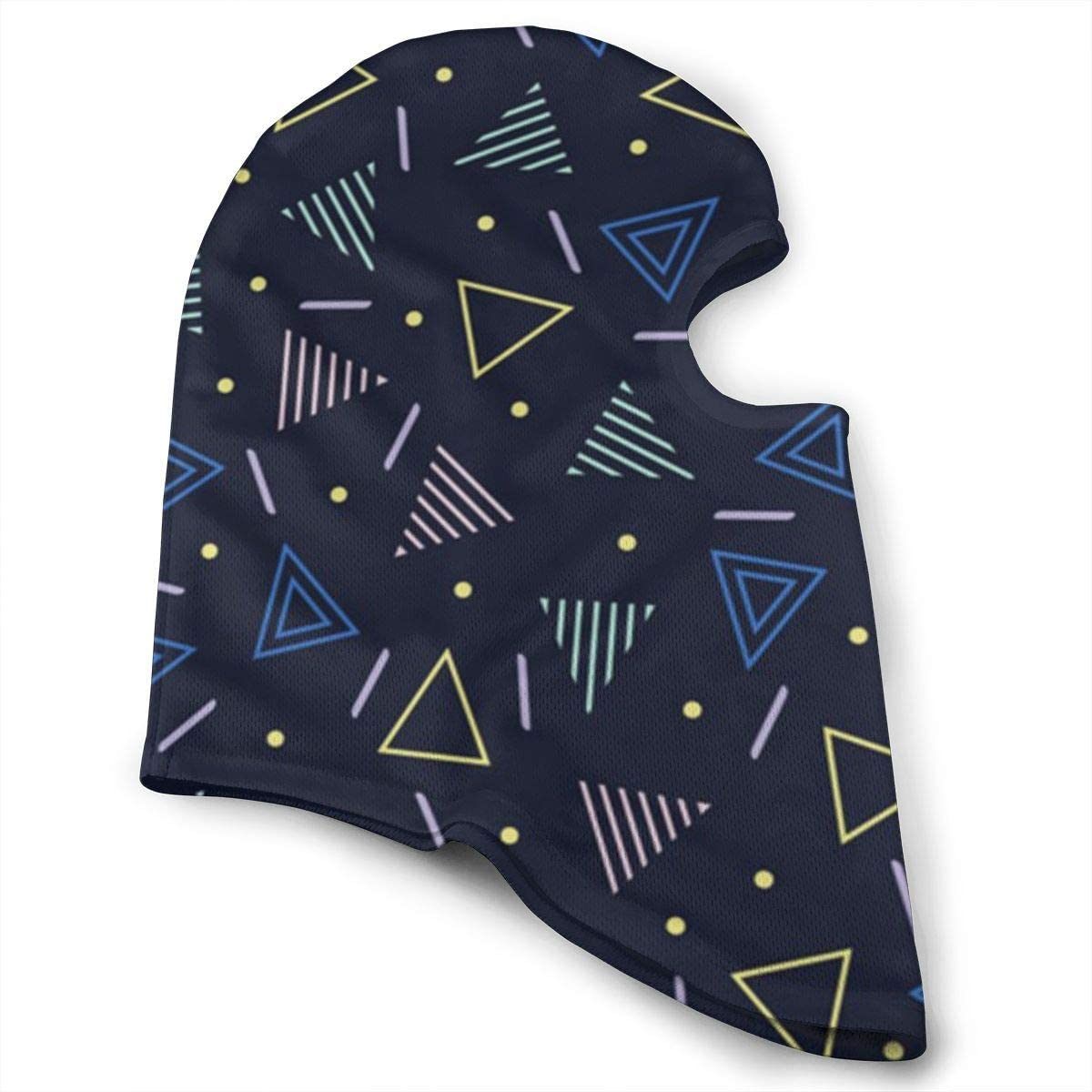 CAClifestyle Abstract Geometric Patterns Unisex Windproof Balaclavas Full Face Mask Hood