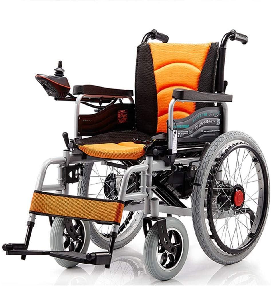 WLD Silla de Ruedas Eléctrica Plegable Motorizado Sillas de Ruedas Eléctricas, Scooter Médica para Personas de Movilidad Reducida Y Movilidad de Edad Avanzada gdfgdfgsdf