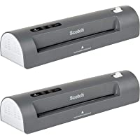 $95 » Scotch Thermal Laminator, 2 Roller System for a Professional Finish, Use for Home, Office or School, Suitable for use with Photos (TL901X) - 2 Pack