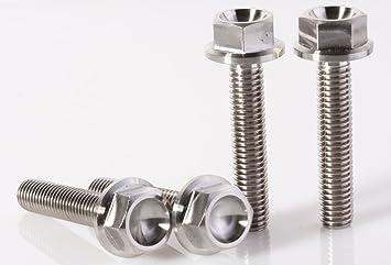 M5x20 Screws M5x20 Titanium Bolts 4 pieces 6AL4V Aerospace Grade