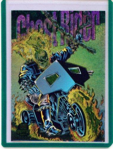 - 1994 Marvel Universe Power Blast Ghost Rider Insert Card #3 of 9