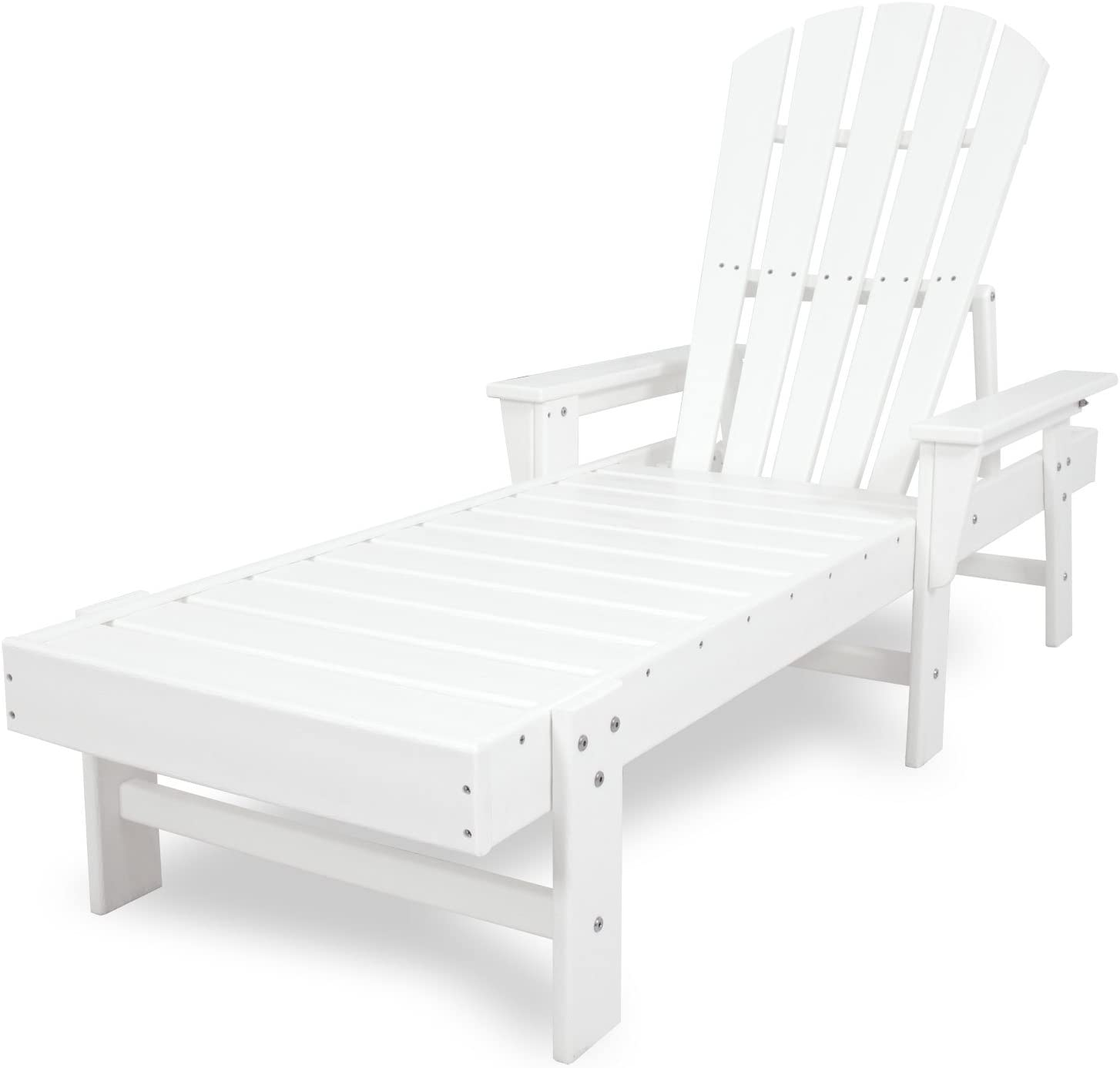 POLYWOOD SBC76WH South Beach Chaise, White