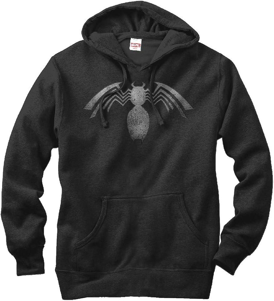 Marvel Venom Emblem Mens Graphic Lightweight Hoodie
