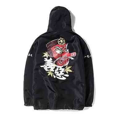 33e382cbb PERDONTOO Men's Outdoor Windproof Hooded Zip-up Lightweight Windbreaker  Jacket (Small, Black)