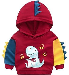 Hoodies Mud Kingdom Dinosaur Applique Boys Fashion Hoodies Clothing &  Accessories flexigraf.com