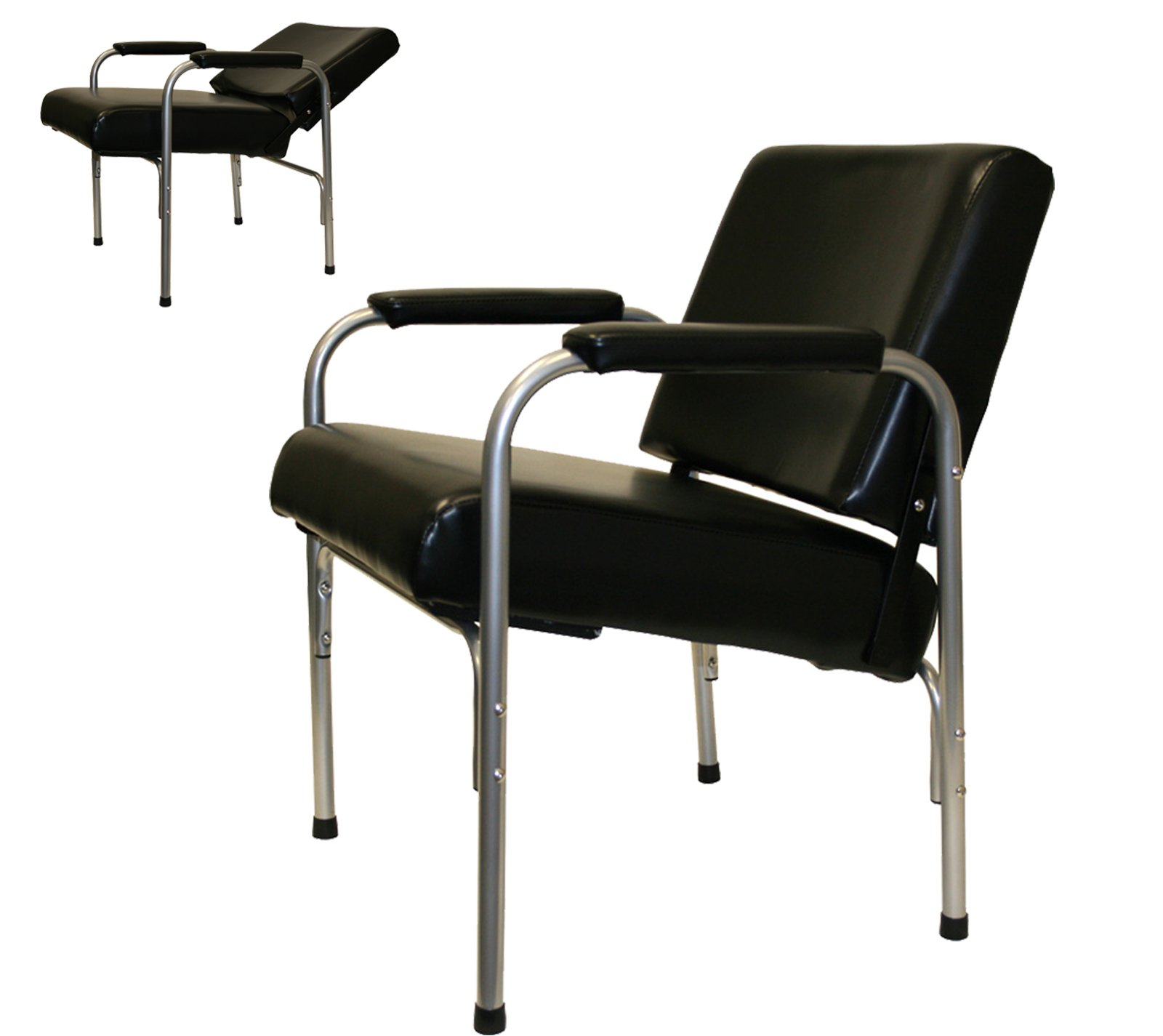 LCL Beauty Automatic Recline Shampoo Chair with Double-Reinforced Steel Frame by LCL Beauty