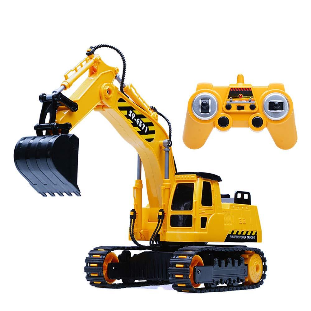 RC Engineering Crawler Bagger 8CH 1:26 2,4G Funkfernsteuerung LKW Spielzeug für Kinder Beste für Kinder Weihnachten Spielzeug RC LKW