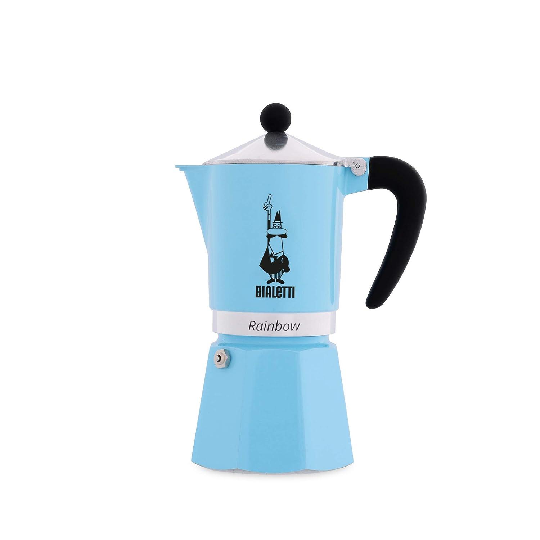 Light Blue Bialetti 5043 Rainbow Espresso Maker