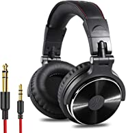 OneOdio Adapter-Free Closed Back Over-Ear DJ Stereo Monitor Headphones, Professional Studio Monitor & Mixing, Telescopic Arm