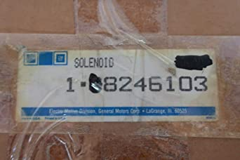 Lucas Ledex 8246103 Rotary Solenoid