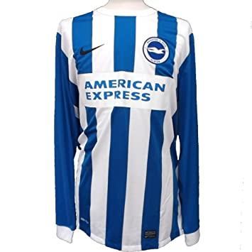 Nike Brighton   Hove Albion FC Long Sleeve Home Shirt 2015-2016 XL   Amazon.co.uk  Sports   Outdoors 887838685