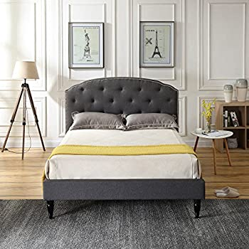 Amazon.com: Classic Brands DeCoro Brighton Upholstered ...