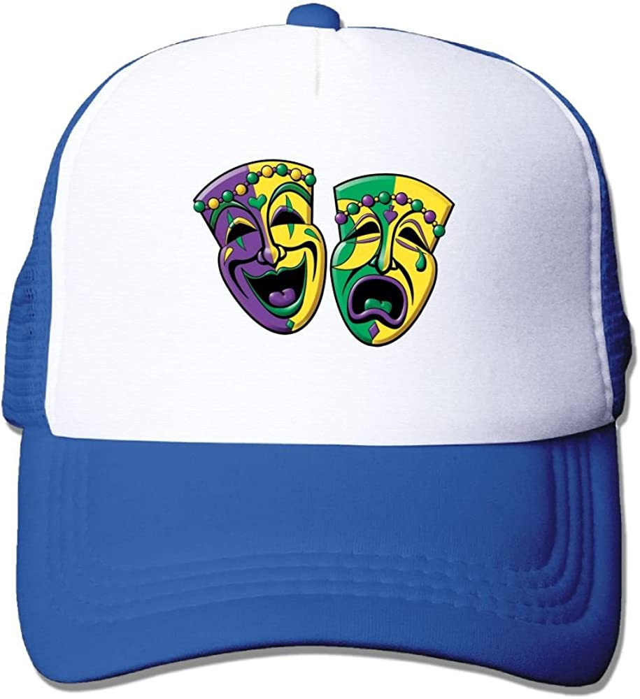 FeiTian Mardi Gras Comfort Baseball Caps For Men Timeless Great For Outdoor Running Fitted Hats