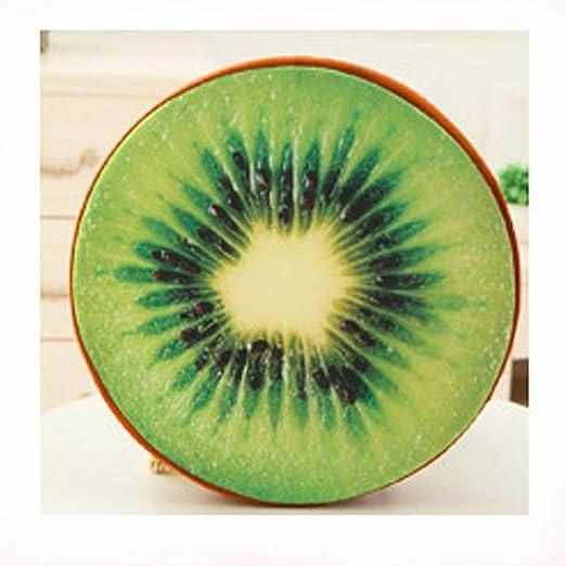 PENVEAT - Cojín para Asiento de Frutas en 3D, 30 cm, cojín Redondo, Almohada Creativa para decoración del hogar, Regalo de cumpleaños, sofá, Manta de ...