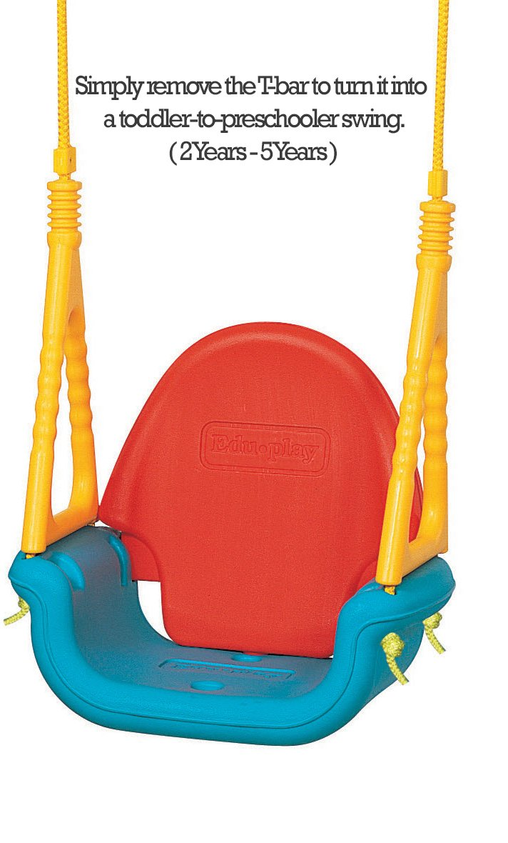 Edu Play Baby Outdoor Swing Seat 3 In 1 Perfect For Infants Babies