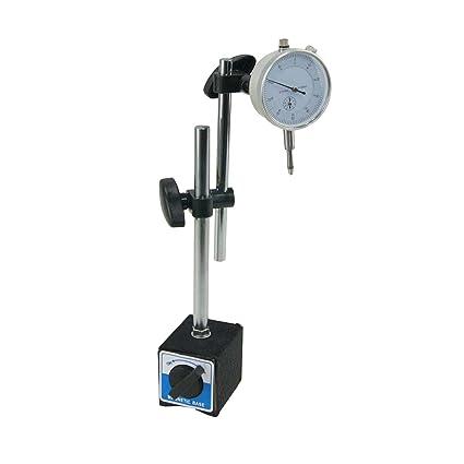 Manómetro con base magnética.