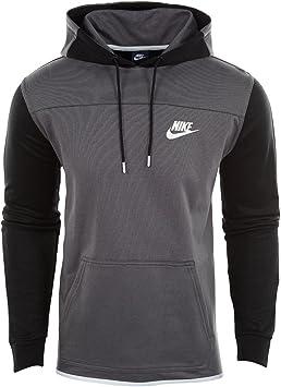 Nike M NSW AV15 Hoodie Po FLC Sweat pour Homme XXL Gris