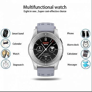 Reloj deportiva Inteligente Teléfonos Inteligentes Reloj con pantalla táctil,podómetro,monitoreo de sueño,