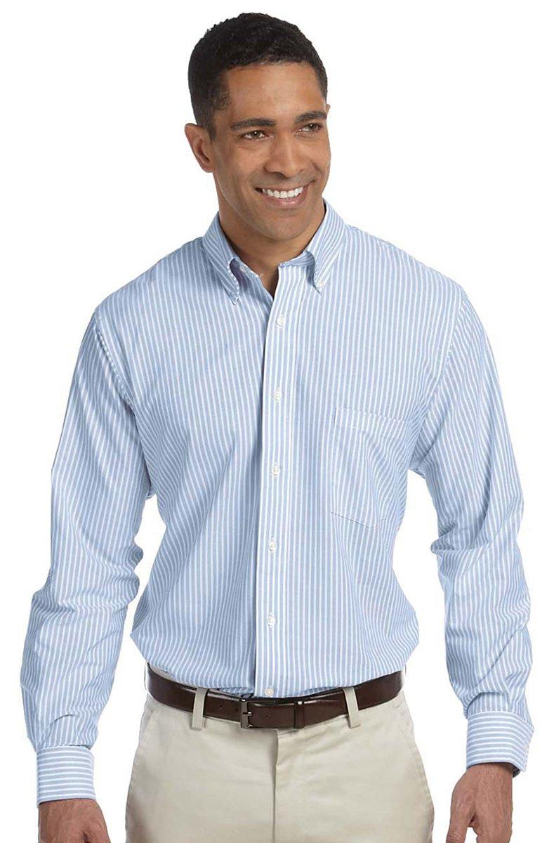 Van Heusen mens Regular Fit Oxford Button Down Collar Dress Shirt 13V0040