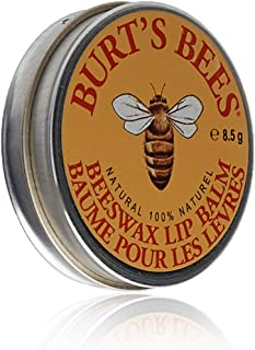 product image for Burt's Bees Lip Balm Tin, Beeswax, 0.3 oz, 2 pack