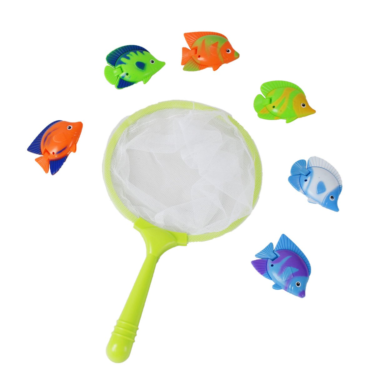 CatchStar Diving Fish Pool Toys Durable Toys Easy Catch Sink Water Games Bath Toys Kids