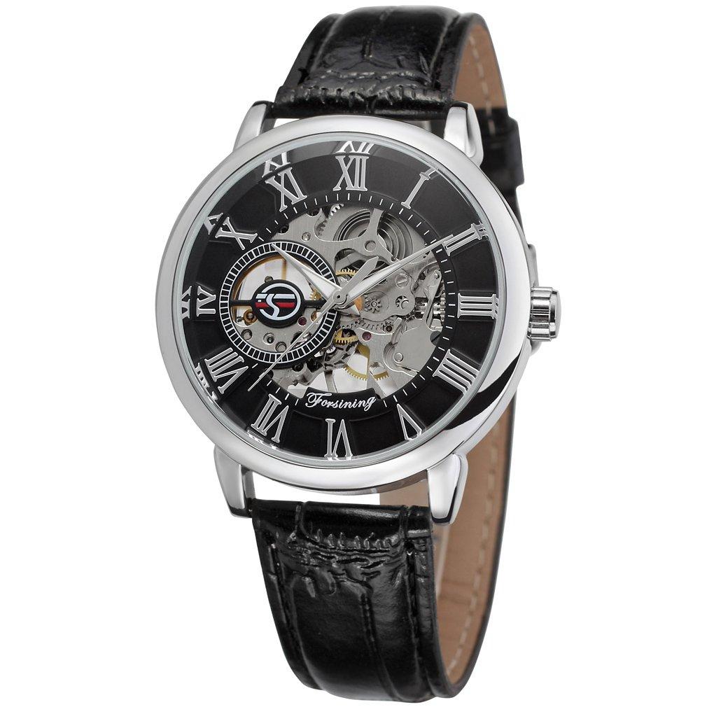 forsining Hombre mecánico hand-wind Esqueleto Moda Analógico Reloj de pulsera fsg8099 m3s2: Amazon.es: Relojes