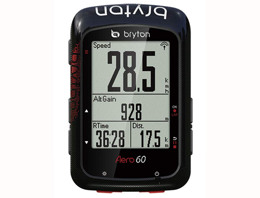 BRYTON(ブライトン) AERO 60T(エアロ60T) GPSサイクルコンピューター (トリプルセンサー付キット) TB0F0AE060TBLK   B07J6MV6G2