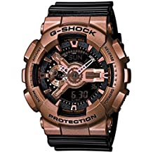 Casio - G-Shock - Big Case Series - Black / Rose Gold - GA110GD-9B2