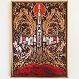 Star Wars X Wing Fighter Wooden Wall Art 15.5'' x 11.5''