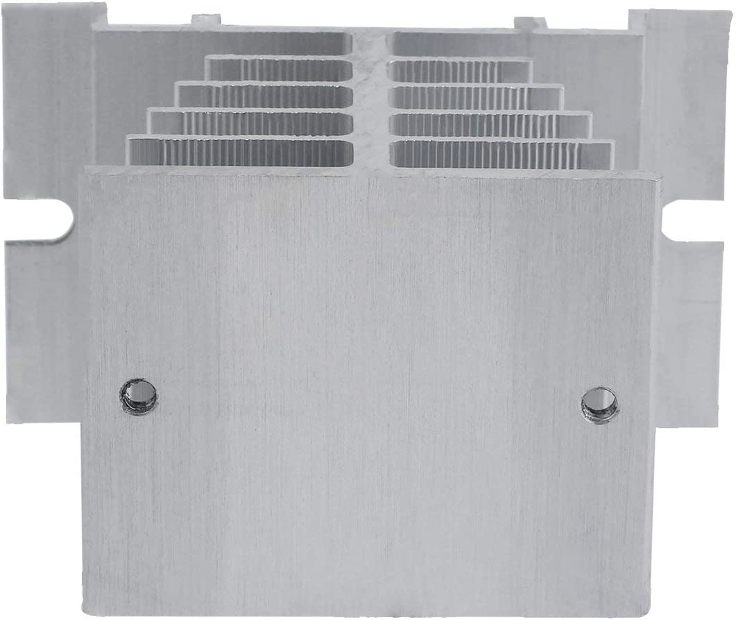 Disipador de calor de rel/é de estado s/ólido de alta calidad Disipador de calor de aluminio para rel/é de estado s/ólido SSR Disipaci/ón de calor de tipo peque/ño