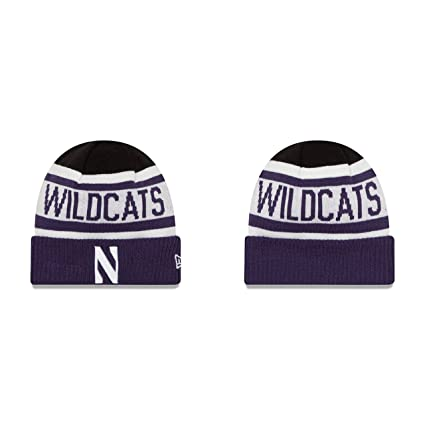 Amazon.com   Northwestern Wildcats Knit Hat Cuffed Biggest Fan 2.0 ... 418d03dd5e17