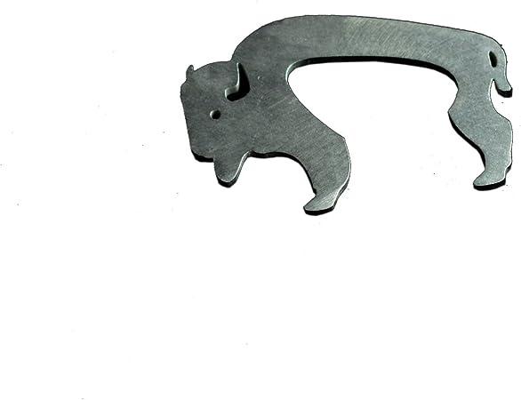 Steel Emberlit Strike-A-Light Bison