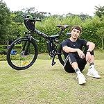 Vivi-Bicicletta-Elettrica-Pieghevole-26-Mountain-Elettrica-Bike-350W-Bici-Elettrica-per-Adulti-con-Batteria-Rimovibile-8Ah-Professionale-21-velocita-Sospensione-Completa