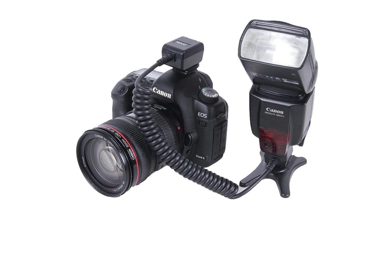 SB-800 SB-910 + Pr/áctica Correa de Regalo Cable para Zapata de Flash Externo TTL de Gran Resistencia Movo Photo FC20N para Nikon SB-400 etc SB-900 SB-700 Remplazo para el SC-28 SB-600