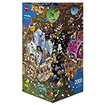 Heye Triangular The Kiss Mordillo Puzzles (2000-Piece) by Heye