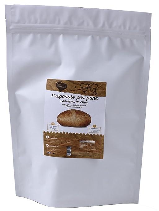 Pane Dulight con semi di Chia (in polvere) 230g: Amazon.es ...
