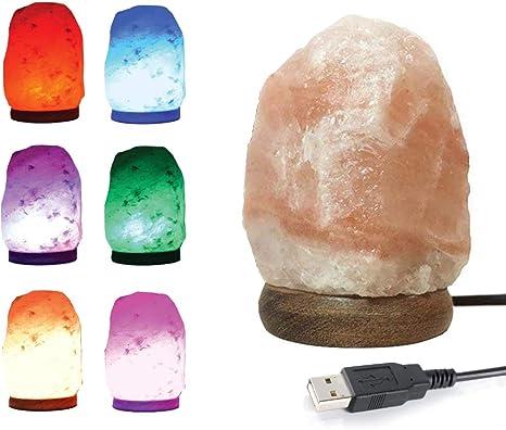 Amazon.com: HOMY Lámpara de sal natural del Himalaya de ...