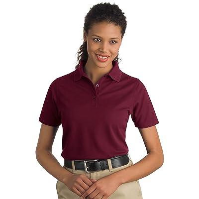 Cornerstone CS403 Ladies Industrial Pocketless Pique Polo