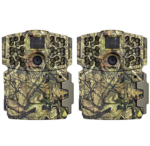 Moultrie (2) No Glow Invisible 20MP Mini 999i Infrared Game Cameras | M-999i (Best No Glow Trail Camera)