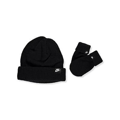 Nike Baby Boys' Knit Beanie & Mittens Set