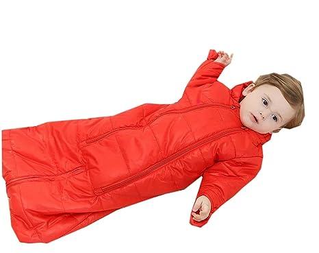 Y-BOA-Saco de dormir para bebé de invierno, flexible, con cremallera